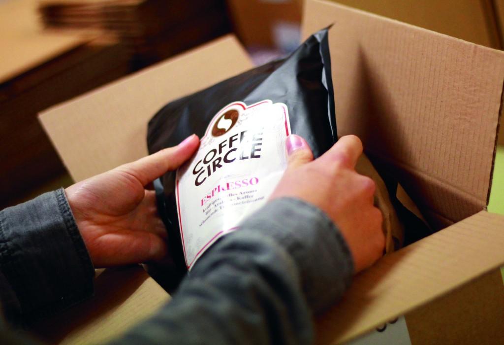 faire Verpackung des Kaffees von Coffee Circle