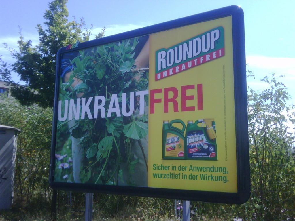 Glyphosat ist in Roundup enthalten