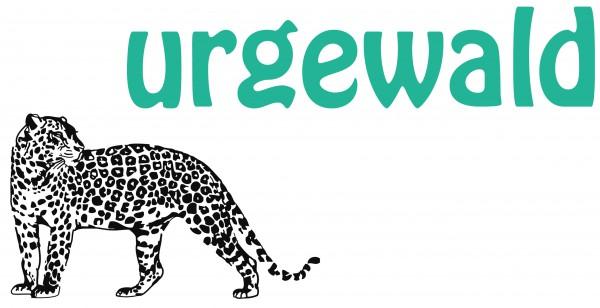 Leopardenlogo des Naturschutzvereines urgewald