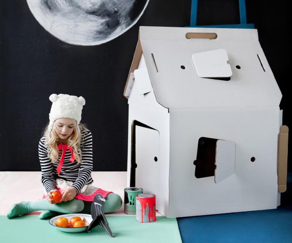 Papphaus von studio roof kommt ohne plastik aus