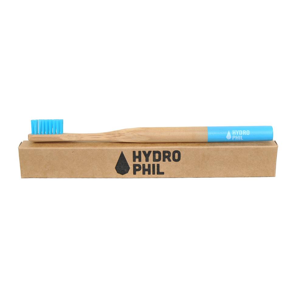 Bambuszahnbürste von Hydrophil blau