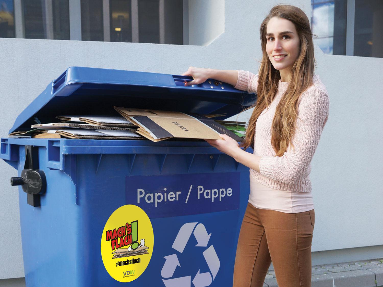 Papier Recycling richtig gemacht