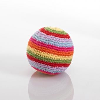 Häkelball von Pebble bunt gestreift