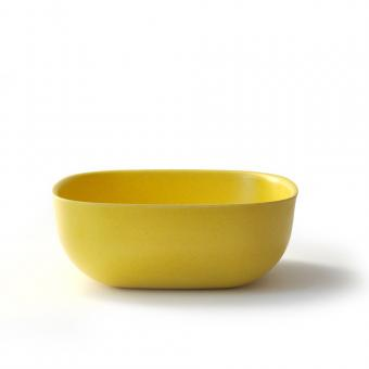 Bambusgeschirr GUSTO by EKOBO - große Schale gelb