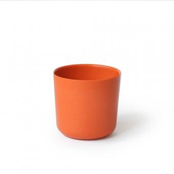Bambusgeschirr GUSTO by EKOBO - kleiner Becher orange