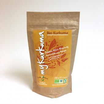Bio Kurkuma Latte von Coffee and Flavor 200g Beutel