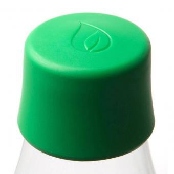 Verschlussdeckel für Glas Trinkflaschen von Retap Grün
