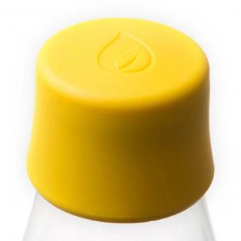 Verschlussdeckel für Glas Trinkflaschen von Retap Gelb