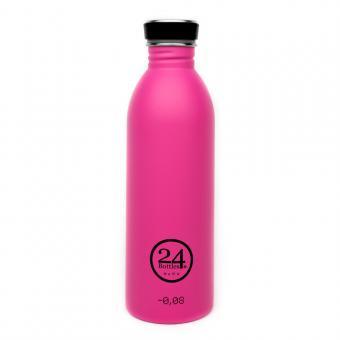 Edelstahl Trinkflasche 0,5L von 24bottles passion pink