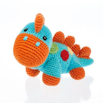 Häkeltier Dino von Pebble