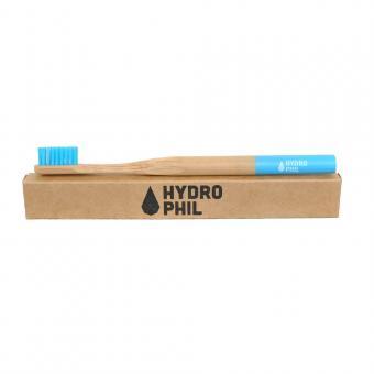 Holzzahnbürste von Hydrophil blau