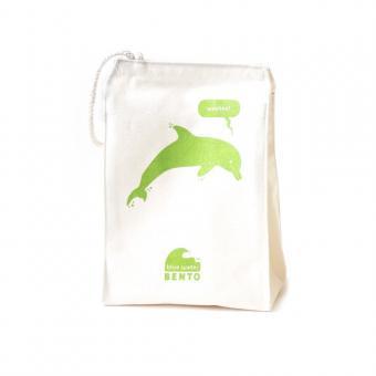 """Lunchbag Blue Water Bento """"Dolphin"""" von EcoLunchbox"""