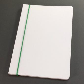 Notizheft A5 Blanko 3er Nachfüllset grün