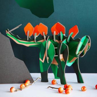 3D Puzzle Dino Stegosaurus Stecktier