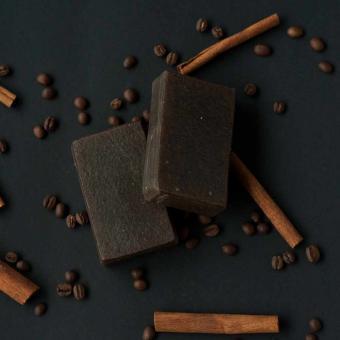 Peelingseife Wake up and Cinnamon - 100g Volloloko