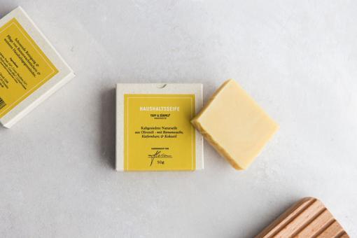 Seife für Bienenwachstuch
