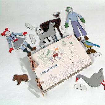 """Spielfiguren """"Figures"""" von studio ROOF"""