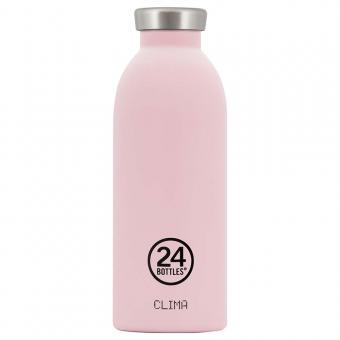 THERMO Trinkflasche Edelstahl CLIMA 0,5L von 24bottles candy pink