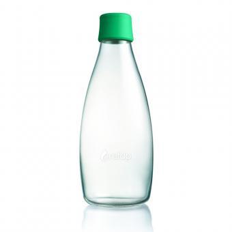 glas trinkflasche von retap 0 8l gr n in retap im online shop von mehr gr. Black Bedroom Furniture Sets. Home Design Ideas