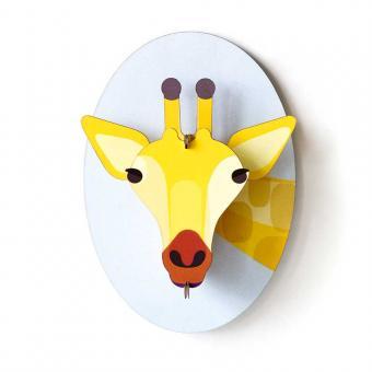 Kreative Wanddekoration für das Kinderzimmer - studio ROOF Giraffe