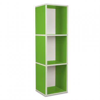 Bücherregal Cube Plus 3 von Way Basics