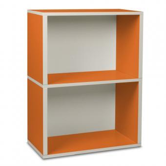 Way Basics Regal rechteckig Plus 2 orange