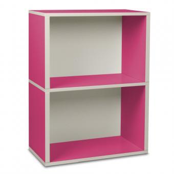 Way Basics Regal rechteckig Plus 2 pink