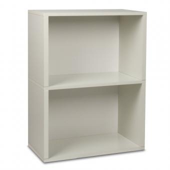 regal aus pappe leicht stabil und bunt way basics plus 2. Black Bedroom Furniture Sets. Home Design Ideas