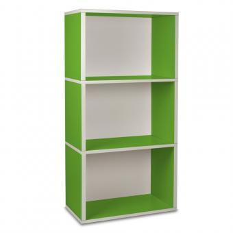 Way Basics Regal rechteckig Plus 3 grün