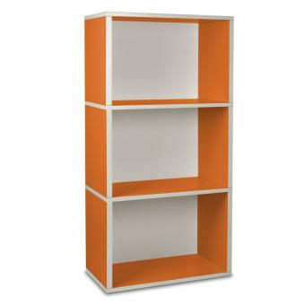 Way Basics Regal rechteckig Plus 3 orange
