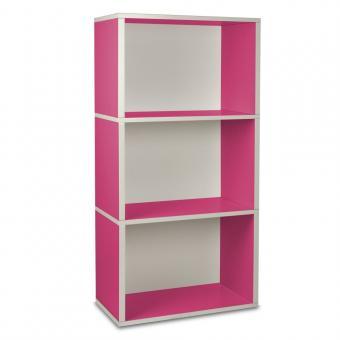 Way Basics Regal rechteckig Plus 3 pink