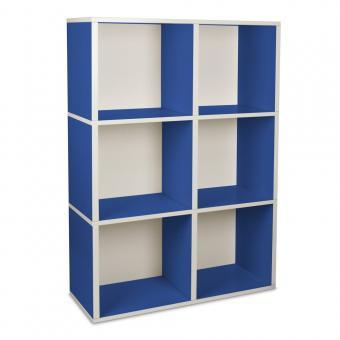 Bücherregal Tribeca von Way Basics blau