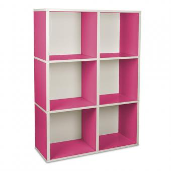 Bücherregal Tribeca von Way Basics pink