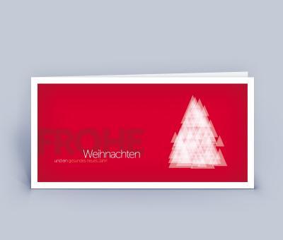 Weihnachtskarten DIN Lang 5er Set