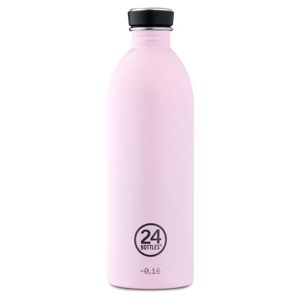 24Bottles Edelstahl Trinkflasche 1000ml Candy Pink