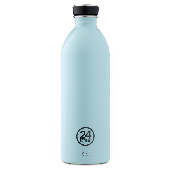 24Bottles Edelstahl Trinkflasche 1000ml Cloud Blue