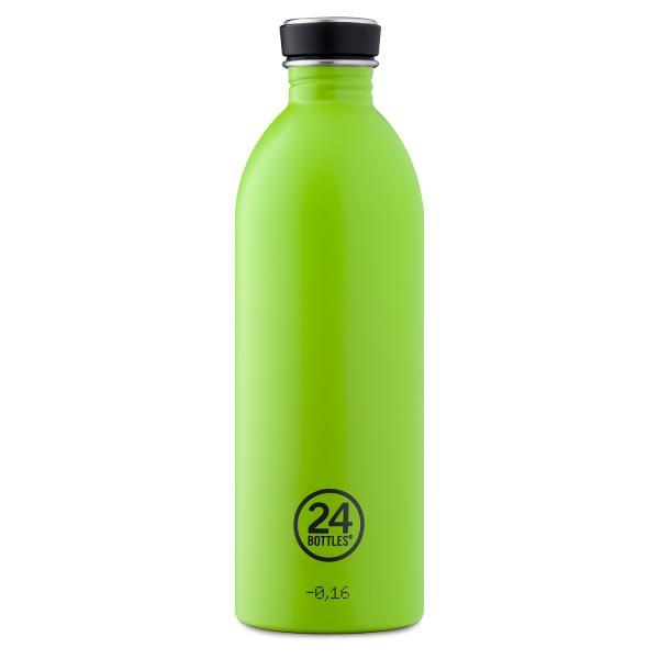 24Bottles Edelstahl Trinkflasche 1000ml Lime Green