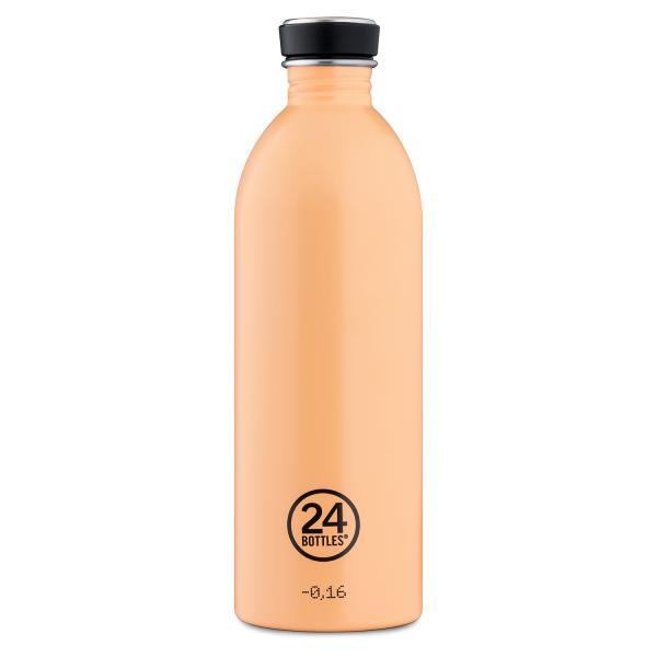 24Bottles Edelstahl Trinkflasche 1000ml Peach Orange