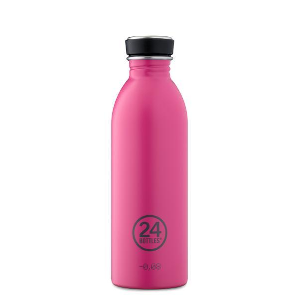 24Bottles Edelstahl Trinkflasche URBAN 500ml Passion Pink