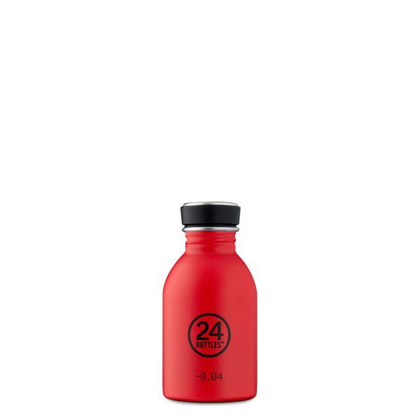 24Bottles Edelstahl Trinkflasche URBAN 250ml Hot Red