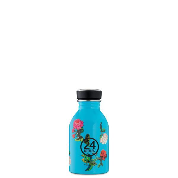 24Bottles Edelstahl Trinkflasche URBAN 250ml  Rosabyte
