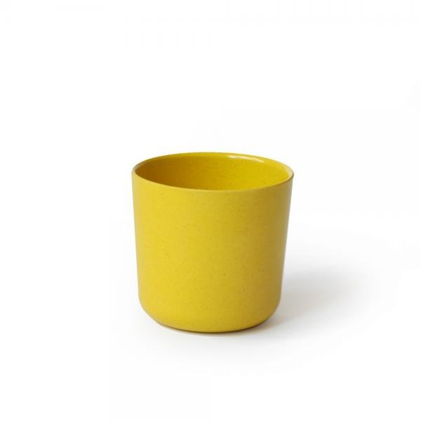 Bambusgeschirr GUSTO by EKOBO - kleiner Becher gelb