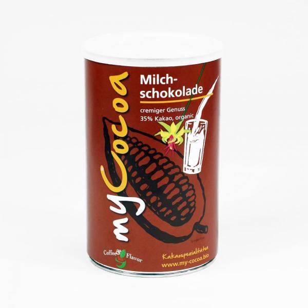 Bio Kakaopulver 35% Milchschokolade von Coffee and Flavor 375g