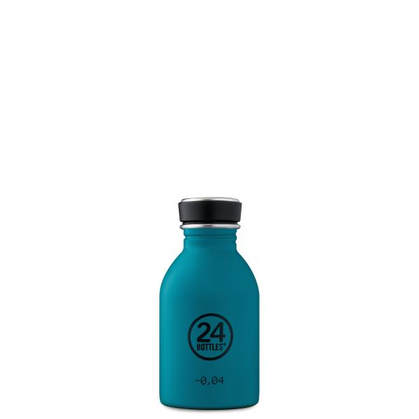 24Bottles URBAN Edelstahl Trinkflasche 250ml Atlantic Bay