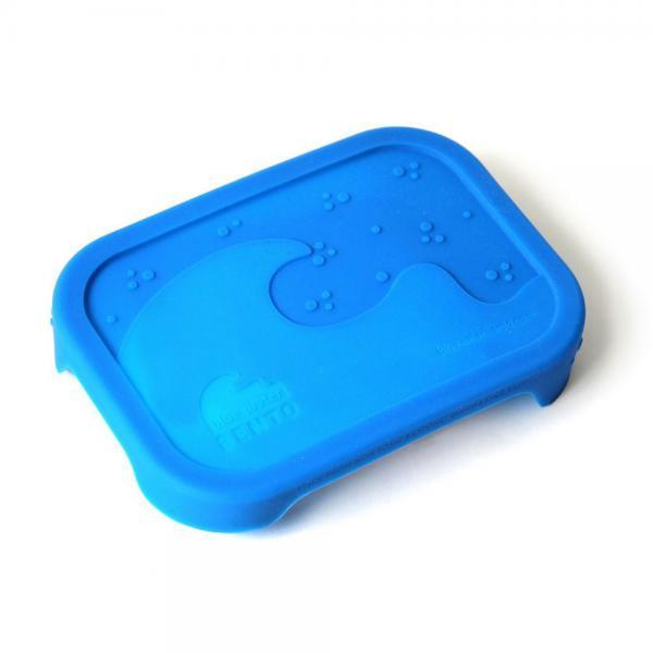 Ersatzdeckel für Brotdose aus Edelstahl Splash von Eco Lunchbox