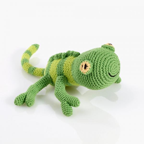 Häkeltier Gecko von Pebble
