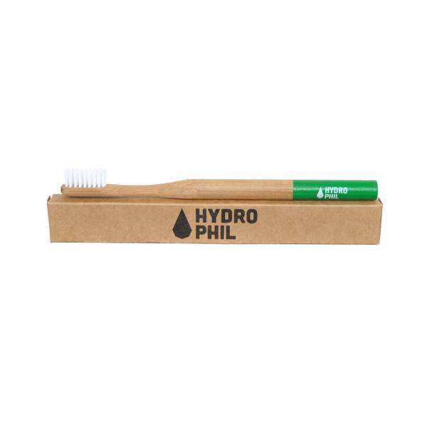 Holzzahnbürste von Hydrophil grün