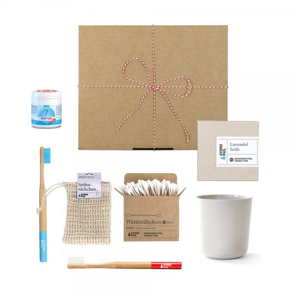 Geschenk Set Hydrophil medium weiß