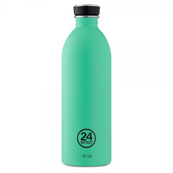 Trinkflasche Edelstahl 1000ml Urban - Mint von 24bottles