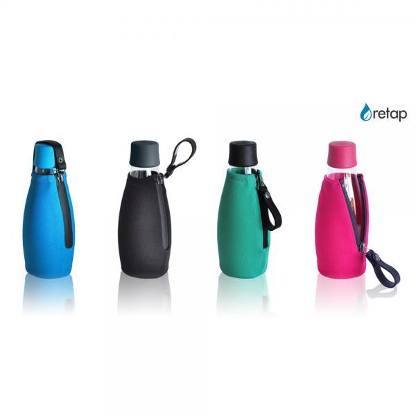 Schutzhülle für Retap Glas Trinkflaschen /
